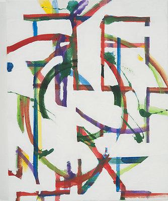 Little Guy 8X10 acrylic on canvas 2011