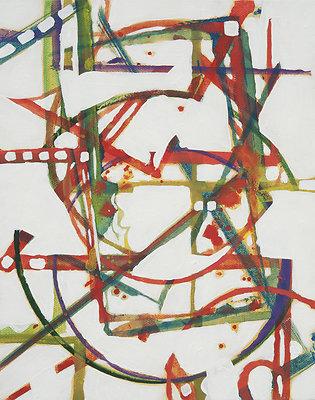 Childhood 8X10 acrylic on canvas 2011