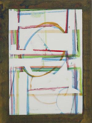 Take a Walk 18X24 acrylic on canvas 2009