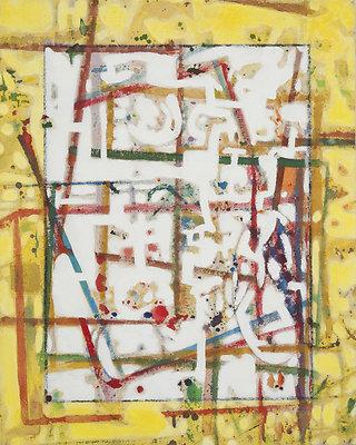 My MInd isnt it 16X20 acrylic on canvas 2009