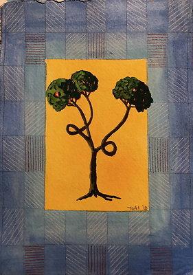 """'JB Tree'* 6""""x8"""""""